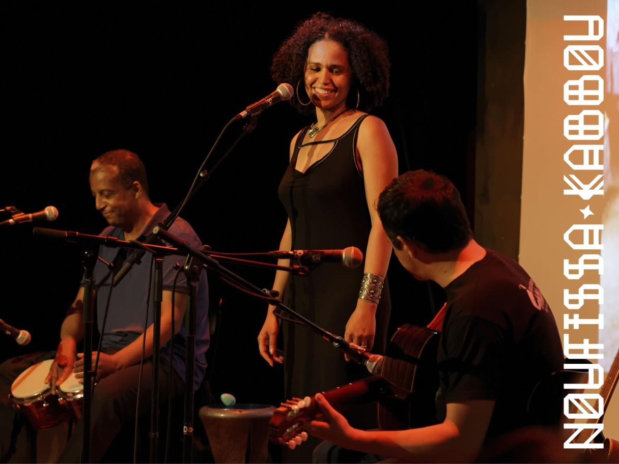 Concert de Noufissa Kabbou au Shadok (Strasbourg), 30/06/2016 Photo Alexandre Schlub